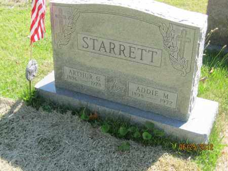 STARRETT, ARTHUR GEORGE - Franklin County, Ohio | ARTHUR GEORGE STARRETT - Ohio Gravestone Photos