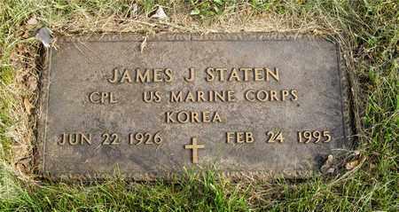 STATEN, JAMES J. - Franklin County, Ohio | JAMES J. STATEN - Ohio Gravestone Photos