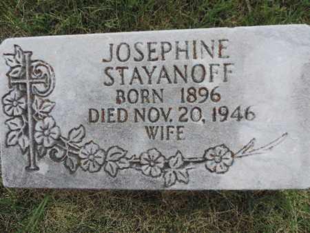 STAYANOFF, JOSEPHINE - Franklin County, Ohio   JOSEPHINE STAYANOFF - Ohio Gravestone Photos
