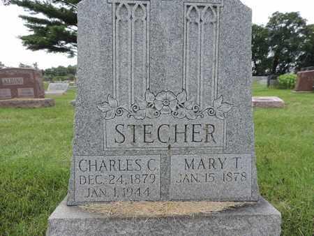 STECHER, CHARLES C. - Franklin County, Ohio | CHARLES C. STECHER - Ohio Gravestone Photos