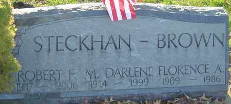 STECKHAN, ROBERT F - Franklin County, Ohio | ROBERT F STECKHAN - Ohio Gravestone Photos