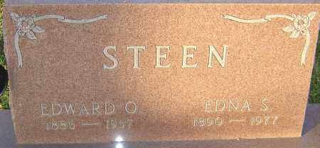 STEEN, EDWARD - Franklin County, Ohio | EDWARD STEEN - Ohio Gravestone Photos