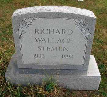 STEMEN, RICHARD WALLACE - Franklin County, Ohio   RICHARD WALLACE STEMEN - Ohio Gravestone Photos