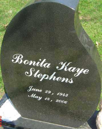 STEPHENS, BONITA KAYE - Franklin County, Ohio | BONITA KAYE STEPHENS - Ohio Gravestone Photos