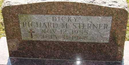 "STERNER, RICHARD M ""DICKY"" - Franklin County, Ohio | RICHARD M ""DICKY"" STERNER - Ohio Gravestone Photos"