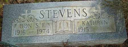 STEVENS, DON - Franklin County, Ohio | DON STEVENS - Ohio Gravestone Photos