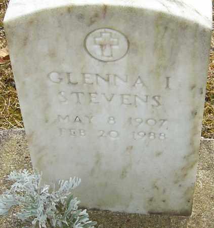 STEVENS, GLENNA I - Franklin County, Ohio | GLENNA I STEVENS - Ohio Gravestone Photos