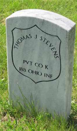 STEVENS, THOMAS J. - Franklin County, Ohio | THOMAS J. STEVENS - Ohio Gravestone Photos