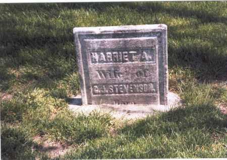 STEVENSON, HARRIET A. - Franklin County, Ohio   HARRIET A. STEVENSON - Ohio Gravestone Photos