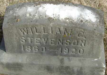 STEVENSON, WILLIAM G - Franklin County, Ohio | WILLIAM G STEVENSON - Ohio Gravestone Photos