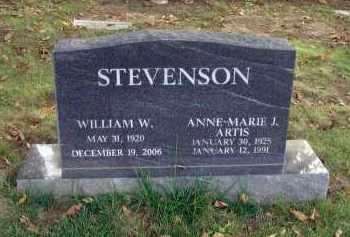 STEVENSON, WILLIAM W. - Franklin County, Ohio | WILLIAM W. STEVENSON - Ohio Gravestone Photos