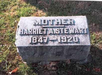 STEWART, HARRIET A. - Franklin County, Ohio | HARRIET A. STEWART - Ohio Gravestone Photos