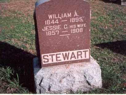 STEWART, WILLIAM A. - Franklin County, Ohio   WILLIAM A. STEWART - Ohio Gravestone Photos