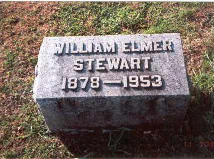 STEWART, WILLIAM ELMER - Franklin County, Ohio   WILLIAM ELMER STEWART - Ohio Gravestone Photos