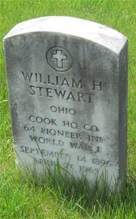 STEWART, WILLIAM H. - Franklin County, Ohio   WILLIAM H. STEWART - Ohio Gravestone Photos