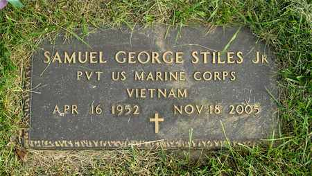 STILES, SAMUEL GEORGE - Franklin County, Ohio | SAMUEL GEORGE STILES - Ohio Gravestone Photos