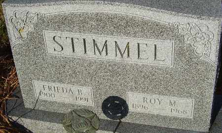 STIMMEL, ROY M - Franklin County, Ohio | ROY M STIMMEL - Ohio Gravestone Photos