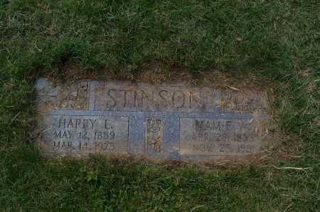 STINSON, MAMIE - Franklin County, Ohio | MAMIE STINSON - Ohio Gravestone Photos