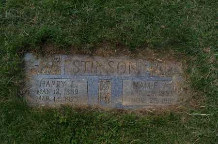 STINSON, HARRY EDWARD - Franklin County, Ohio | HARRY EDWARD STINSON - Ohio Gravestone Photos