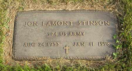 STINSON, JON LAMONT - Franklin County, Ohio | JON LAMONT STINSON - Ohio Gravestone Photos