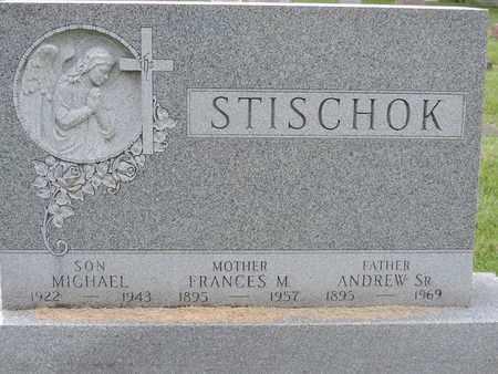 STISCHOK, FRANCES - Franklin County, Ohio | FRANCES STISCHOK - Ohio Gravestone Photos