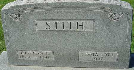 STITH, CLIFTON L - Franklin County, Ohio   CLIFTON L STITH - Ohio Gravestone Photos