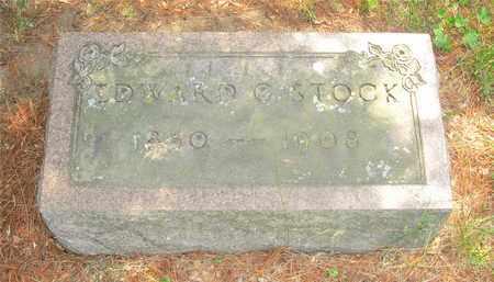 STOCK, EDWARD G. - Franklin County, Ohio   EDWARD G. STOCK - Ohio Gravestone Photos