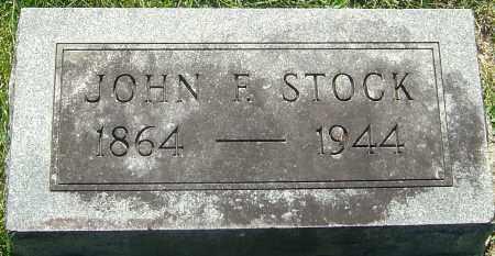 STOCK, JOHN F - Franklin County, Ohio | JOHN F STOCK - Ohio Gravestone Photos