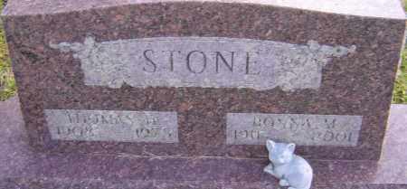 HUNT STONE, BONNA - Franklin County, Ohio   BONNA HUNT STONE - Ohio Gravestone Photos