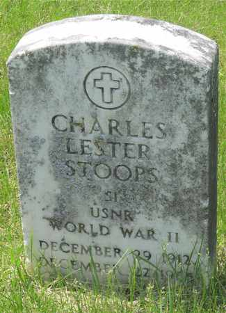 STOOPS, CHARLES LESTER - Franklin County, Ohio | CHARLES LESTER STOOPS - Ohio Gravestone Photos