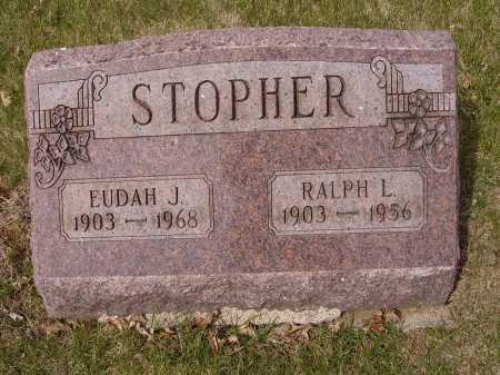 STOPHER, EUDAH J. - Franklin County, Ohio | EUDAH J. STOPHER - Ohio Gravestone Photos