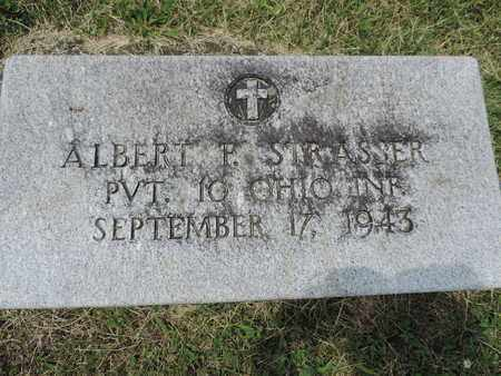 STRASSER, ALBERT F. - Franklin County, Ohio | ALBERT F. STRASSER - Ohio Gravestone Photos