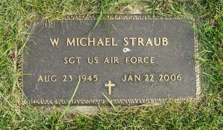 STRAUB, W. MICHAEL - Franklin County, Ohio | W. MICHAEL STRAUB - Ohio Gravestone Photos