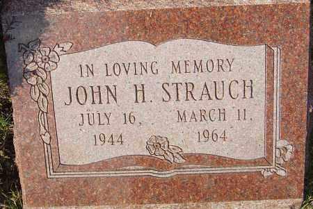 STRAUCH, JOHN H - Franklin County, Ohio   JOHN H STRAUCH - Ohio Gravestone Photos