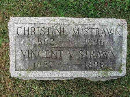 STRAWN, CHRISTINE M. - Franklin County, Ohio | CHRISTINE M. STRAWN - Ohio Gravestone Photos