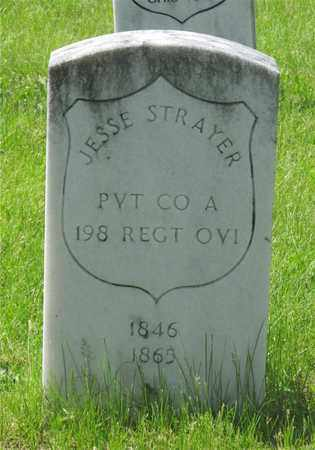 STRAYER, JESSE - Franklin County, Ohio | JESSE STRAYER - Ohio Gravestone Photos