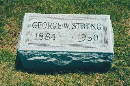 STRENG, GEORGE JR - Franklin County, Ohio | GEORGE JR STRENG - Ohio Gravestone Photos