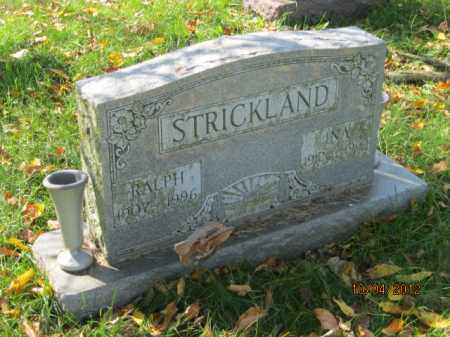 STRICKLAND, INA - Franklin County, Ohio | INA STRICKLAND - Ohio Gravestone Photos