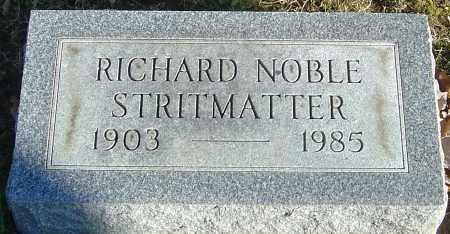 STRITMATTER, RICHARD NOBLE - Franklin County, Ohio | RICHARD NOBLE STRITMATTER - Ohio Gravestone Photos