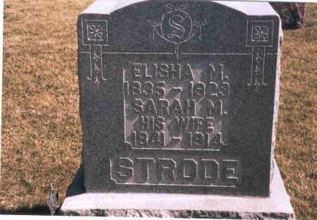 STRODE, SARAH M. - Franklin County, Ohio | SARAH M. STRODE - Ohio Gravestone Photos