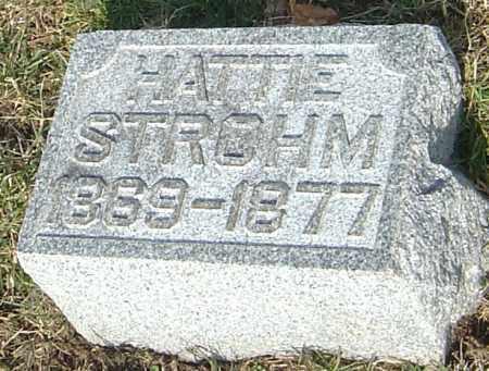 STROHM, HATTIE - Franklin County, Ohio   HATTIE STROHM - Ohio Gravestone Photos