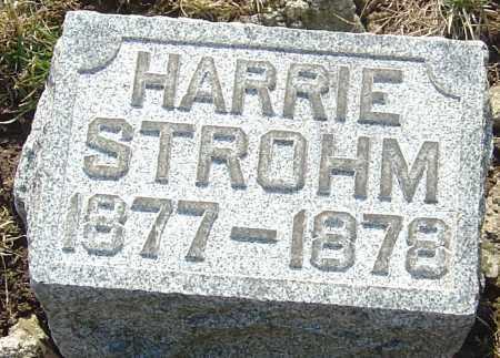 STROHM, HARRIE - Franklin County, Ohio   HARRIE STROHM - Ohio Gravestone Photos