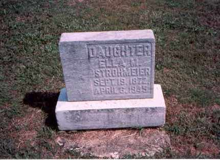 STROHMEIER, ELLA M. - Franklin County, Ohio | ELLA M. STROHMEIER - Ohio Gravestone Photos