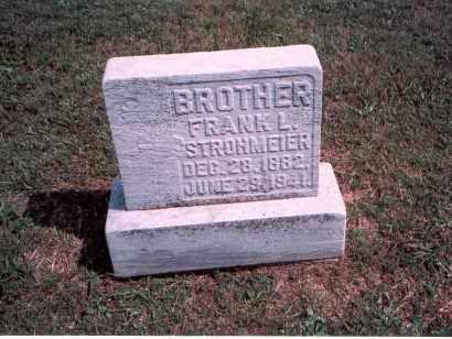 STROHMEIER, FRANK L. - Franklin County, Ohio | FRANK L. STROHMEIER - Ohio Gravestone Photos