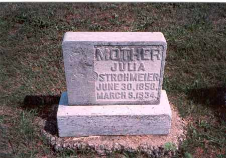 STROHMEIER, JULIA - Franklin County, Ohio | JULIA STROHMEIER - Ohio Gravestone Photos