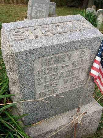 STROME, ELIZABETH - Franklin County, Ohio | ELIZABETH STROME - Ohio Gravestone Photos