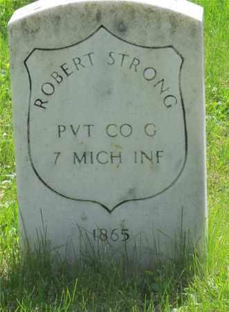 STRONG, ROBERT - Franklin County, Ohio | ROBERT STRONG - Ohio Gravestone Photos