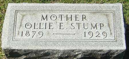 STUMP, OLLIE E - Franklin County, Ohio | OLLIE E STUMP - Ohio Gravestone Photos