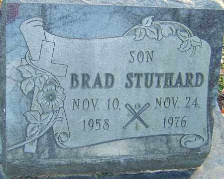 STUTHARD, BRAD - Franklin County, Ohio   BRAD STUTHARD - Ohio Gravestone Photos