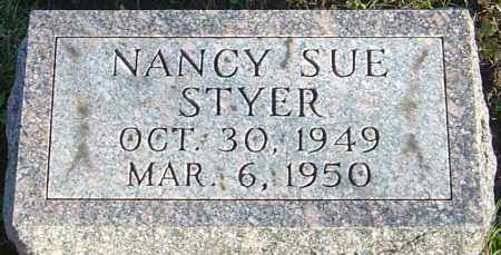 STYER, NANCY SUE - Franklin County, Ohio | NANCY SUE STYER - Ohio Gravestone Photos